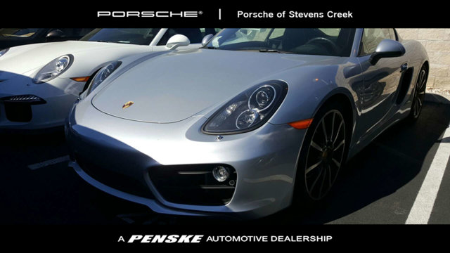 2014 PORSCHE CAYMAN 2DR COUPE S CARFAX One-Owner Clean CARFAX Silver 2014 Porsche Cayman S RWD 3