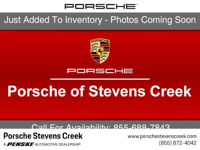 2018 PORSCHE MACAN GTS AWD LOADED WITH VALUE Comes equipped with 14-Way Power Seats BlackGarne