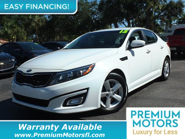 2015 KIA OPTIMA 4DR SEDAN LX LOADED CERTIFIED WE SAVE YOU THOUSANDS Dont Pay Retail Get low m