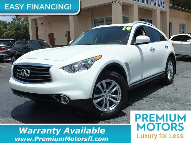 2014 INFINITI QX70 RWD 4DR LOADED CERTIFIED WE SAVE YOU THOUSANDS Dont Pay Retail Get low mon