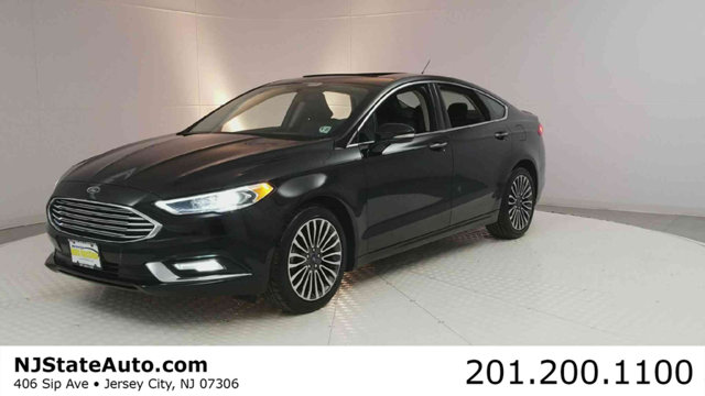 2017 FORD FUSION TITANIUM FWD CARFAX One-Owner Shadow Black 2017 Ford Fusion Titanium FWD 6-Speed
