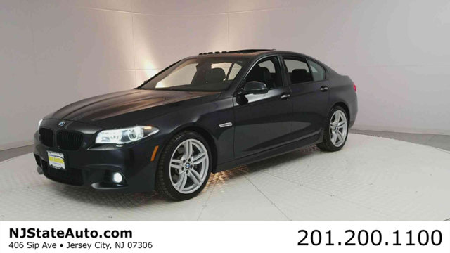 2015 BMW 5 SERIES 535I XDRIVE CARFAX One-Owner Clean CARFAX Azurite Black Metallic 2015 BMW 5 Ser