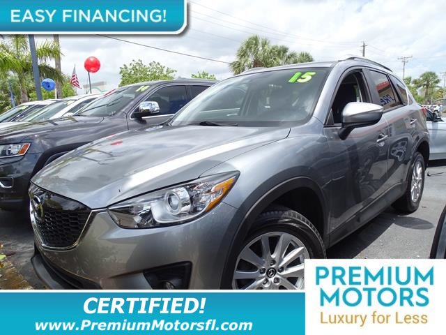 2015 MAZDA CX-5 FWD 4DR AUTOMATIC TOURING LOADED CERTIFIED WE SAVE YOU THOUSANDS Fully serviced