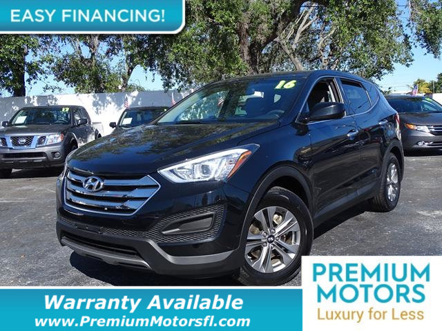 2016 HYUNDAI SANTA FE SPORT AWD 4DR 24 LOADED CERTIFIED MINT CONDITION and 1000s Below Retail
