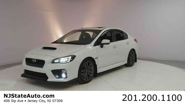 2017 SUBARU WRX LIMITED MANUAL CARFAX One-Owner Clean CARFAX Crystal White Pearl 2017 Subaru WRX