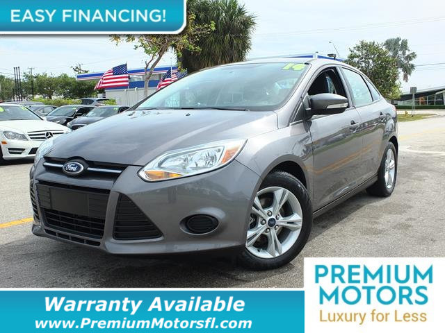 2014 FORD FOCUS 4DR SEDAN SE LOADED CERTIFIED WARRANTY Dont Pay Retail Get low monthly paymen