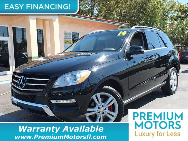 2014 MERCEDES M-CLASS  LOADED CERTIFIED WE SAVE YOU THOUSANDS Fully serviced just sign and dri
