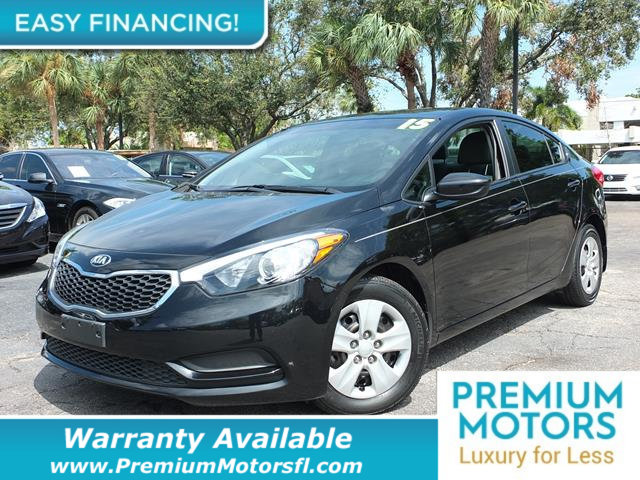 2015 KIA FORTE LX LOADED CERTIFIED WARRANTY Dont Pay Retail Get low monthly payments on this