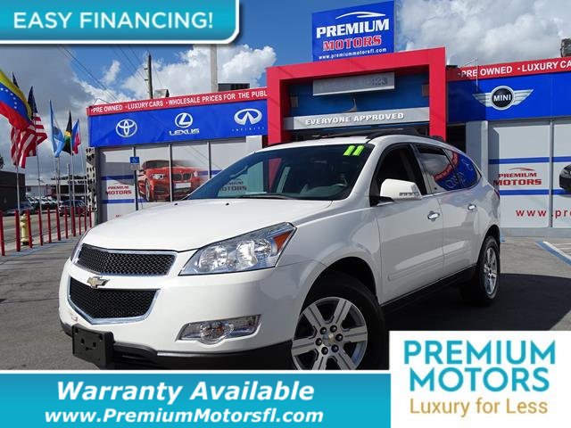 2011 CHEVROLET TRAVERSE AWD 4DR LT W1LT LOADED CERTIFIED WE SAVE YOU THOUSANDS Fully serviced