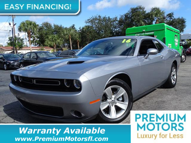 2016 DODGE CHALLENGER  LOADED CERTIFIED WARRANTY Dont Pay Retail Get low monthly payments on