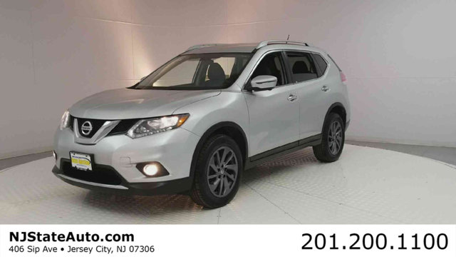 2016 NISSAN ROGUE AWD 4DR SL CARFAX One-Owner Brilliant Silver 2016 Nissan Rogue SL AWD CVT with