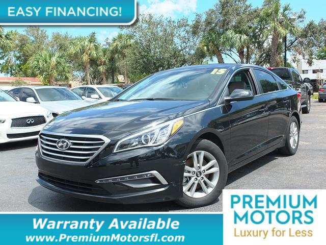 2015 HYUNDAI SONATA 4DR SEDAN 24L SE LOADED CERTIFIED WARRANTY Dont Pay Retail Get low month