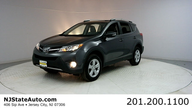 2014 TOYOTA RAV4 4WD 4DR XLE CARFAX CERTIFIED 1-OWNER WITH SERVICE RECORDS RAV4 XLE AWD and