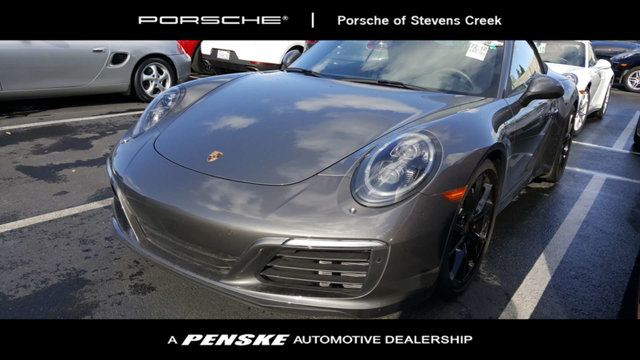 2017 PORSCHE 911 CARRERA CABRIOLET LOADED WITH VALUE Comes equipped with 14-Way Power Sport Seat