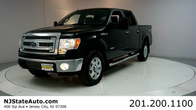 2013 FORD F-150 4WD SUPERCREW 145 XLT CARFAX CERTIFIED 1-OWNER WITH SERVICE RECORDS F-150 XLT