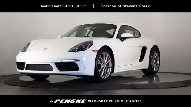 2018 PORSCHE 718 CAYMAN COUPE LOADED WITH VALUE Comes equipped with 14-Way Power Sport Seats Bl