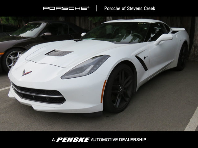 2015 CORVETTE 2DR STINGRAY Z51 COUPE W1LT  CARFAX One-Owner Clean CARFAX White 2015 Chevrolet C