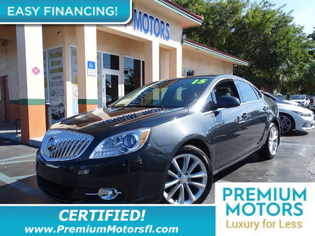 2015 BUICK VERANO 4DR SEDAN CONVENIENCE GROUP BUY AND DRIVE WORRY FREE Own this CARFAX 1-Owner an