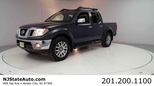 2012 NISSAN FRONTIER 4WD CREW CAB SWB AUTOMATIC SL Night Armor 2012 Nissan Frontier SL 4WD 5-Speed
