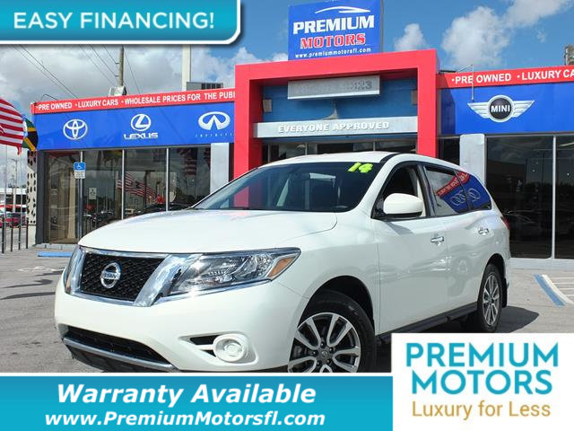 2014 NISSAN PATHFINDER  LOADED CERTIFIED FACTORY WARRANTY Fully serviced just sign and drive