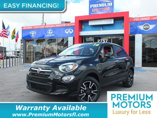 2016 FIAT 500X AWD 4DR EASY LOADED CERTIFIED WARRANTY Dont Pay Retail Get low monthly payment