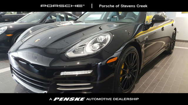 2015 PORSCHE PANAMERA 4DR HATCHBACK 4S CARFAX One-Owner Clean CARFAX Certified Black 2015 Porsc