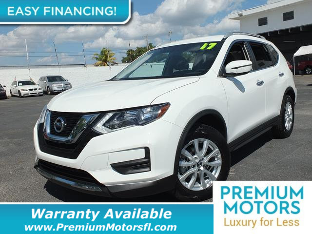 2017 NISSAN ROGUE  LOADED CERTIFIED FACTORY WARRANTY Dont Pay Retail Get low monthly payments