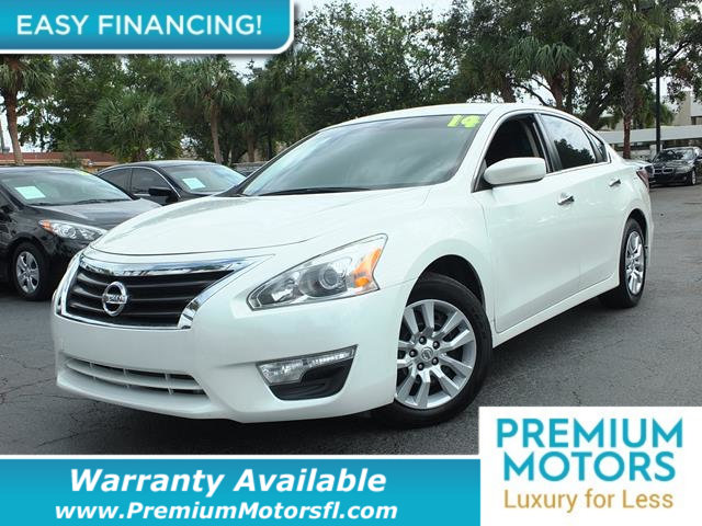 2014 NISSAN ALTIMA  LOADED CERTIFIED WE SAVE YOU THOUSANDS Fully serviced just sign and drive