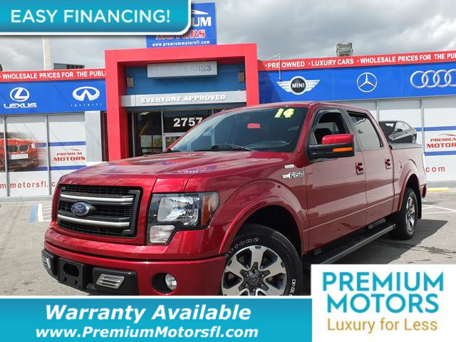 2014 FORD F-150 2WD SUPERCAB 145 FX2 LOADED CERTIFIED WE SAVE YOU THOUSANDS Fully service