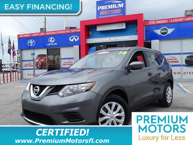 2016 NISSAN ROGUE  KEY FEATURES AND OPTIONS Comes equipped with Air Conditioning Bluetooth This
