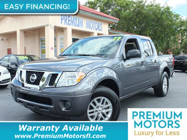 2017 NISSAN FRONTIER CREW CAB 4X2 SV V6 AUTOMATIC LOADED CERTIFIED MINT CONDITION 1000s B