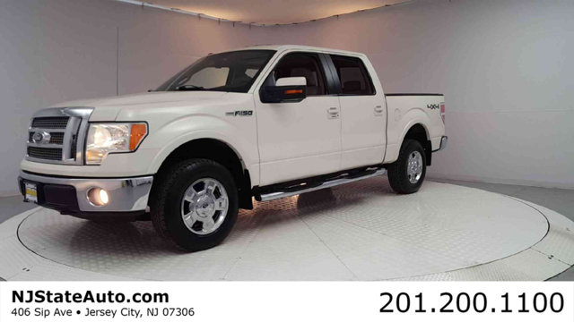 2009 FORD F-150 4WD SUPERCREW 145 LARIAT Oxford White 2009 Ford F-150 Lariat 4WD 6-Speed Automati