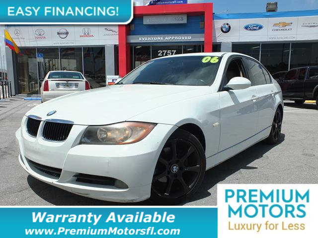 2006 BMW 3 SERIES 325I LOADED CERTIFIED WE SAVE YOU THOUSANDS Fully serviced just sign and dri