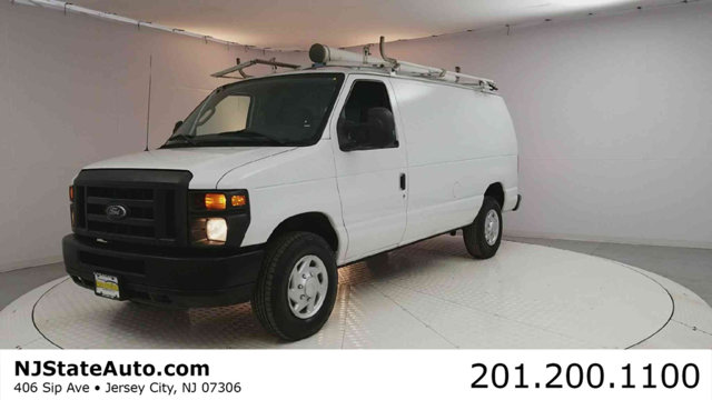 2012 FORD ECONOLINE CARGO VAN E-350 SUPER DUTY COMMERCIAL CARFAX One-Owner Oxford White 2012 Ford