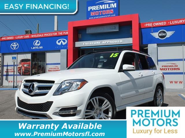 2015 MERCEDES GLK RWD 4DR GLK 350 LOADED CERTIFIED WE SAVE YOU THOUSANDS Fully serviced j