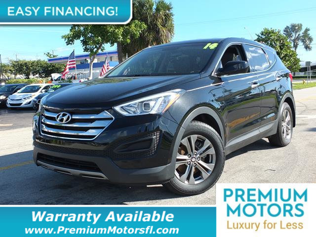 2014 HYUNDAI SANTA FE SPORT FWD 4DR 24 LOADED CERTIFIED WARRANTY Dont Pay Retail Get low mont