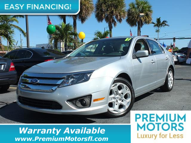 2011 FORD FUSION 4DR SEDAN SE FWD LOADED CERTIFIED WE SAVE YOU THOUSANDS Fully serviced just s