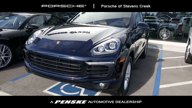 2018 PORSCHE CAYENNE AWD LOADED WITH VALUE Comes equipped with 14-Way Power Seats BlackLuxor B