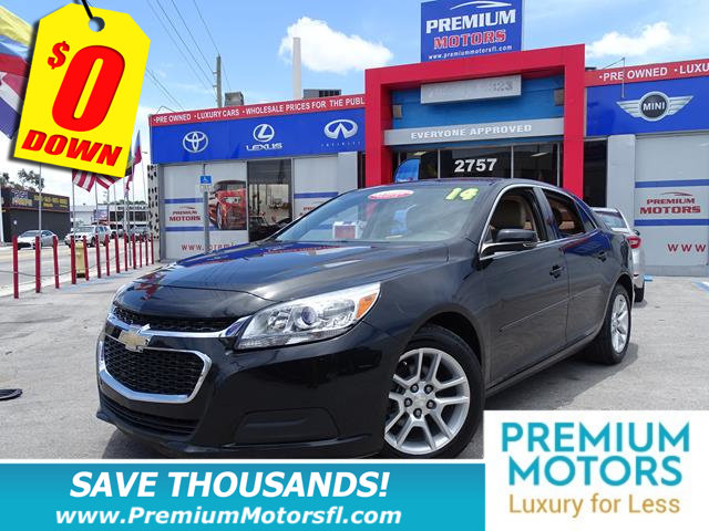 2014 CHEVROLET MALIBU 4DR SEDAN LT W1LT CHEVY FOR LESS SAVE THOUSANDS At Premium Motors we