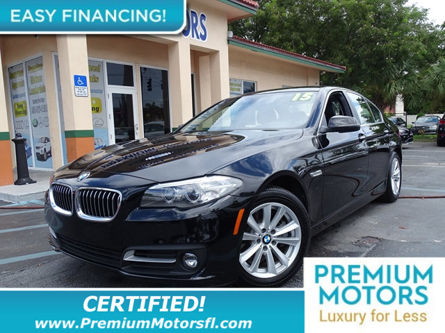2015 BMW 5 SERIES 528I HUGE SALE SAVE THOUSANDS At Premium Motors we have relationships with ba