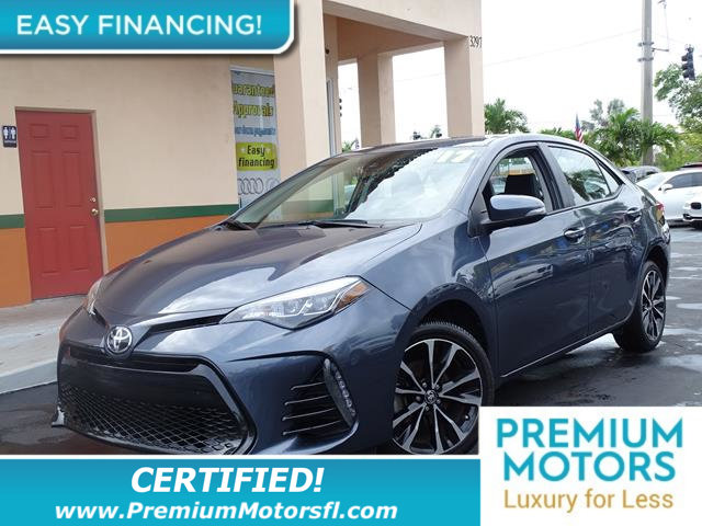 2017 TOYOTA COROLLA SE CVT AUTOMATIC LOADED CERTIFIED MINT CONDITION and 1000s Below Retail Ge