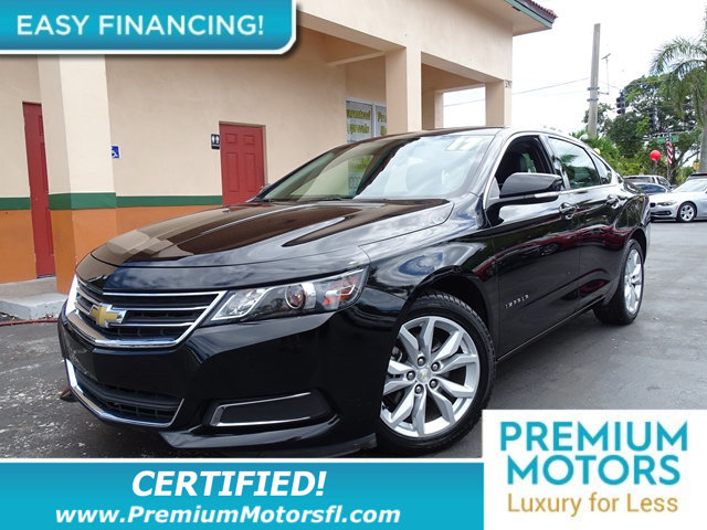 2017 CHEVROLET IMPALA 4DR SEDAN LT W1LT CHEVY FOR LESS FACTORY WARRANTY At Premium Motors