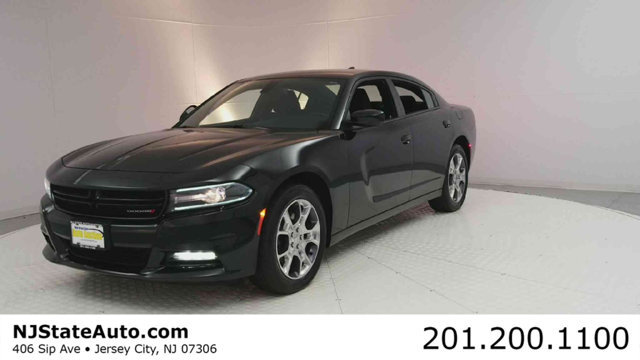 2016 DODGE CHARGER 4DR SEDAN SXT AWD CARFAX One-Owner Clean CARFAX Pitch Black 2016 Dodge Charge