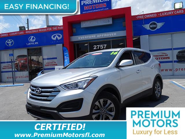 2016 HYUNDAI SANTA FE SPORT FWD 4DR 24 LOADED CERTIFIED WE SAVE YOU THOUSANDS Fully servi