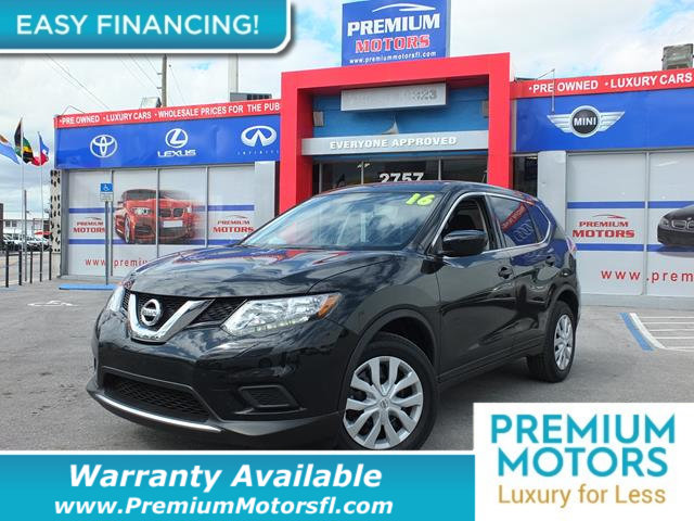 2016 NISSAN ROGUE  LOADED CERTIFIED WE SAVE YOU THOUSANDS Dont Pay Retail Get low monthly pay