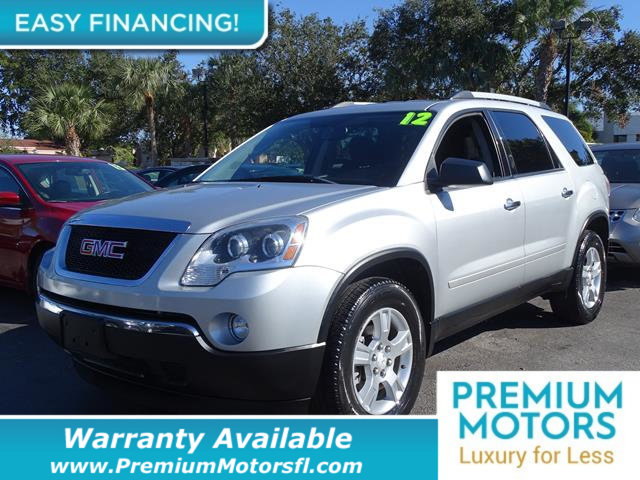 2012 GMC ACADIA FWD 4DR SL LOADED WITH VALUE Comes equipped with Rear Air Conditioning MP3 Thi