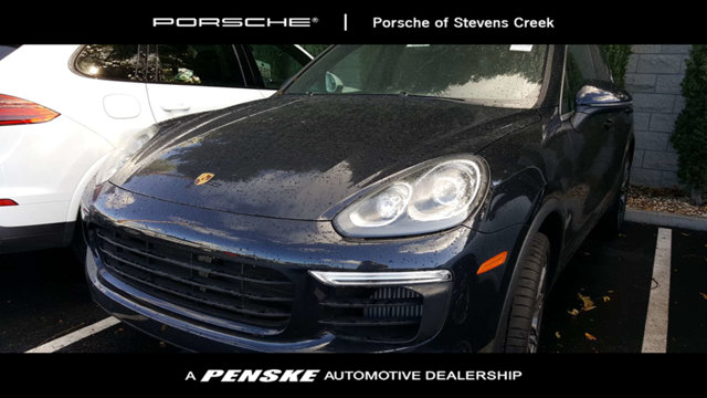 2017 PORSCHE CAYENNE S AWD KEY FEATURES AND OPTIONS Comes equipped with 4-Zone Climate Control B