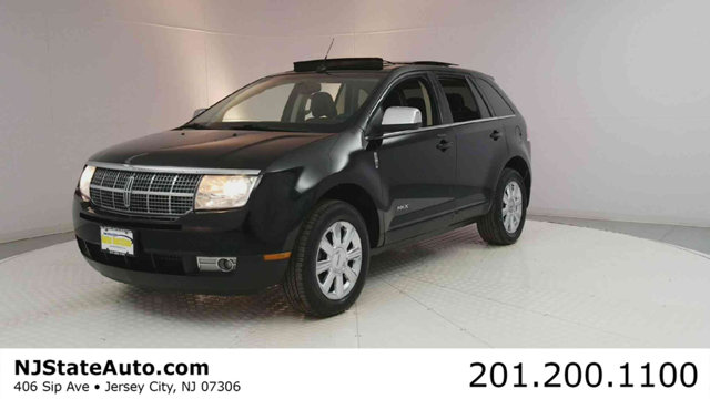 2008 LINCOLN MKX AWD 4DR Black 2008 Lincoln MKX AWD 6-Speed Automatic with Overdrive Duratec 35L