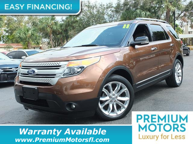 2011 FORD EXPLORER 4WD 4DR XLT LOADED CERTIFIED WARRANTY Dont Pay Retail Get low monthly paym