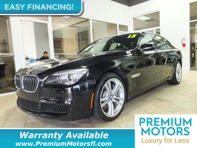 2013 BMW 7 SERIES  LOADED CERTIFIED WE SAVE YOU THOUSANDS Fully serviced just sign and drive